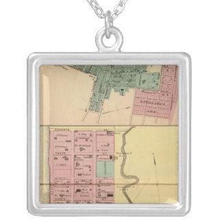 Point Pleasant, Mason Company Square Pendant Necklace