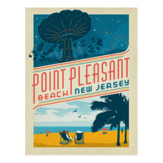 Point Pleasant, NJ Postcard