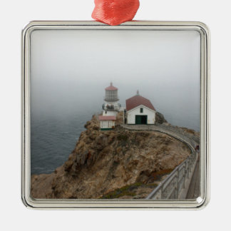 Point Reyes - Light House Metal Ornament