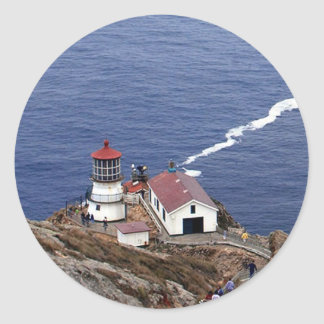 Point Reyes Lighthouse Classic Round Sticker