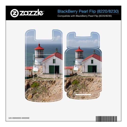 Point Reyes Lighthouse, Marin County, California BlackBerry Pearl Decal