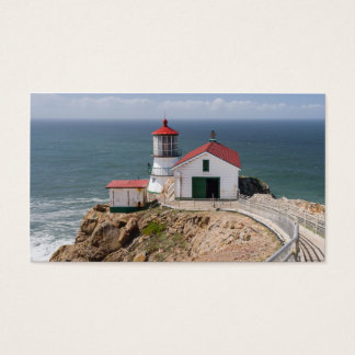 Point Reyes Lighthouse, Marin County, California Business Card