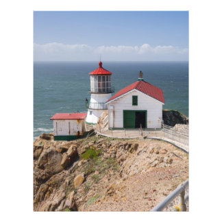 Point Reyes Lighthouse, Marin County, California Custom Flyer