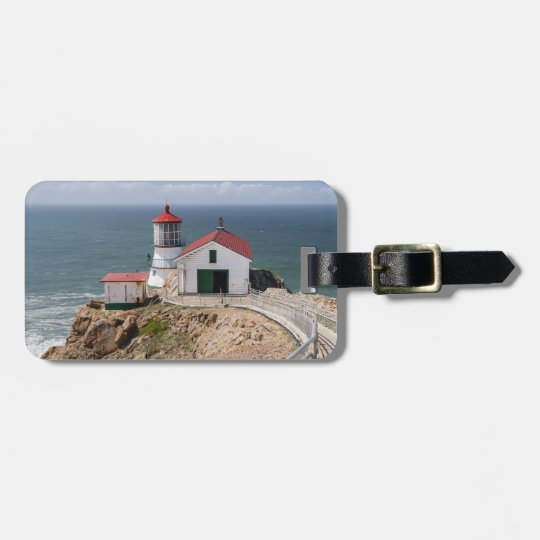 Point Reyes Lighthouse, Marin County, California Luggage Tag
