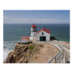 Point Reyes Lighthouse, Marin County, California Poster