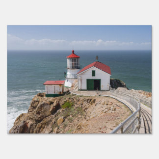 Point Reyes Lighthouse, Marin County, California Yard Sign