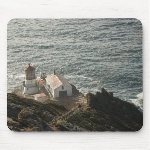 Point Reyes Lighthouse Mouse Pads