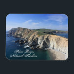 "Point Reyes National Seashore magnet<br><div class=""desc"">Point Reyes National Seashore is an example of California&#39;s curvaceous coastline.</div>"