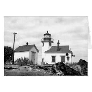 Point Robinson Lighthouse Greeting Card