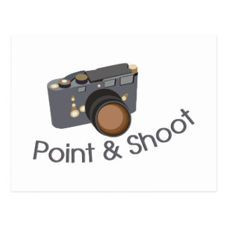 Point & Shoot Postcard