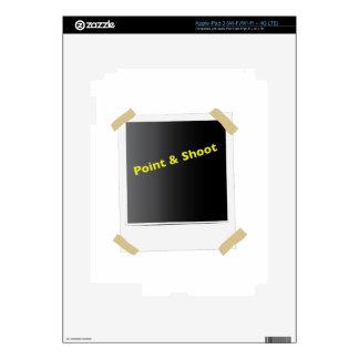 Point & Shoot iPad 3 Decals