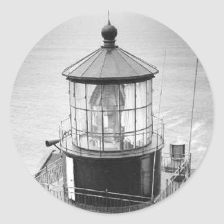 Point Sur Lighthouse Classic Round Sticker