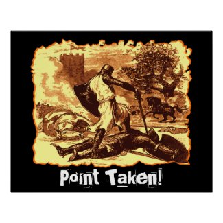 Point Taken! print
