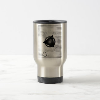 Point To The Moon 15 Oz Stainless Steel Travel Mug