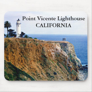 Point Vicente Lighthouse, California Mousepad