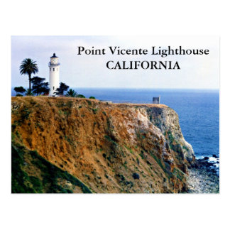 Point Vicente Lighthouse, California Postcard