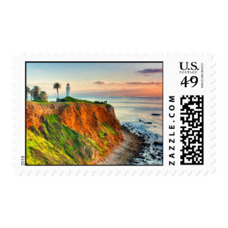 Point Vicente Lighthouse Postage Stamp