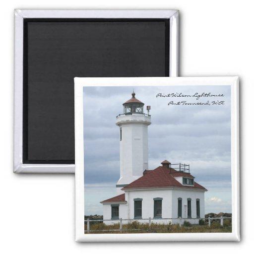 Point Wilson Lighthouse Magnet