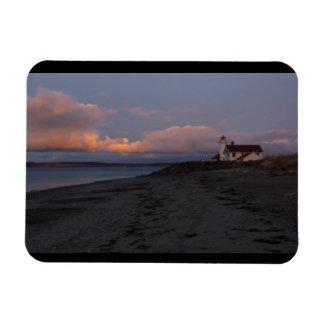 Point Wilson Lighthouse Rectangular Photo Magnet