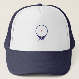 Point Within A Circle Trucker Hat