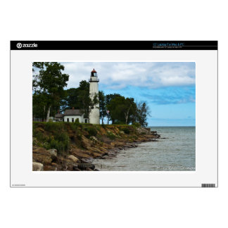 Pointe Aux Barques Lighthouse Laptop Skin