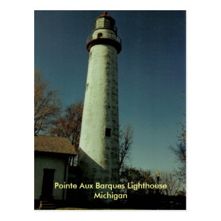 Pointe Aux Barques Lighthouse, Michigan Postcard