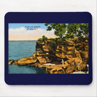 Pointe Aux Barques of the Thumb of Michigan Mouse Pad