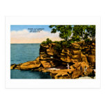 Pointe Aux Barques of the Thumb of Michigan Postcard
