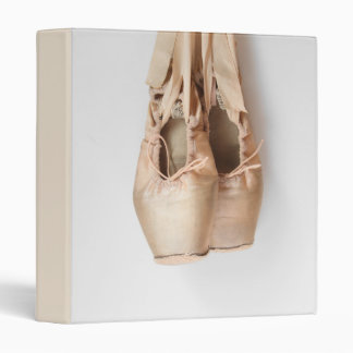 Pointe Shoes 3 Ring Binder