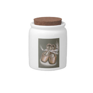 Pointe shoes candy dishes