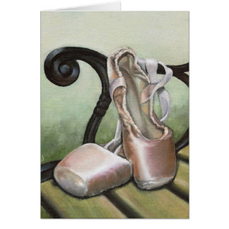Pointe Shoes Card