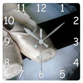 Pointe Show & Tutu Wall Clock for Ballet Dancers