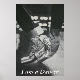 Pointe, soy bailarín poster