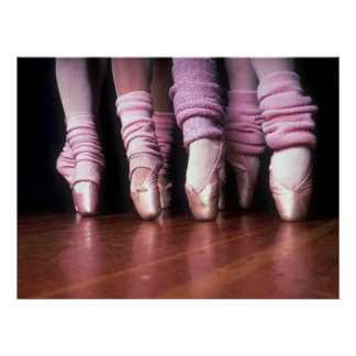 Pointe Work Print Poster