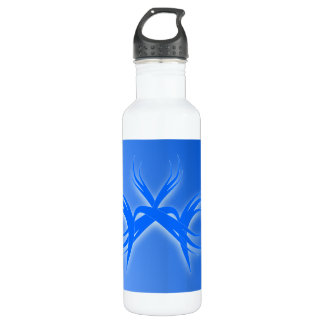 pointed art stainless steel water bottle