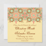 Pointed Intricate Arabesque, 5.25x5.25 save the da Save The Date