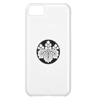 Pointed-leaf Paulownia with 53 blooms in rice cake iPhone 5C Cover