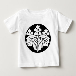 Pointed-leaf Paulownia with 53 blooms in rice cake T-shirts