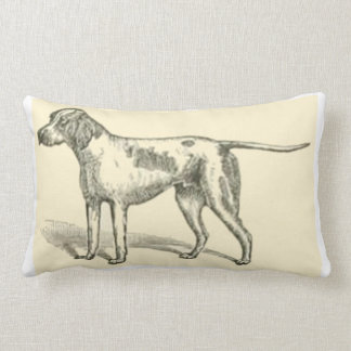 pointer art 2 lumbar pillow