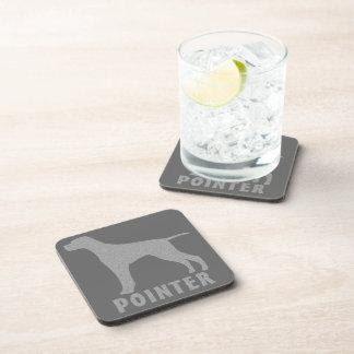 Pointer Beverage Coaster