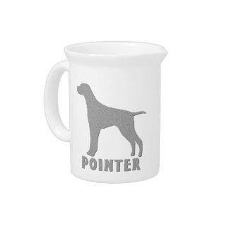 Pointer Beverage Pitcher