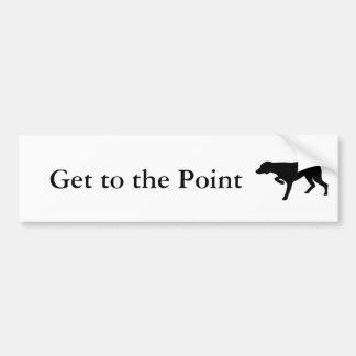 Pointer Bumper Sticker