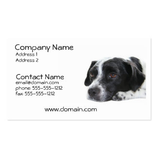 Pointer Dog Business Card