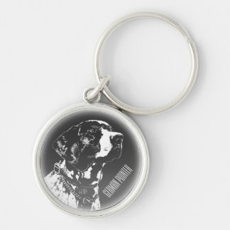 Pointer Dog Key Chain Personalized Pointer Gifts