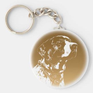 Pointer Dog Key Chains Stylish Dog Lover Keychains