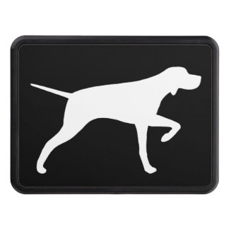 Pointer Dog Silhouette Hitch Cover