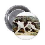 Pointer Dog Water color Pins