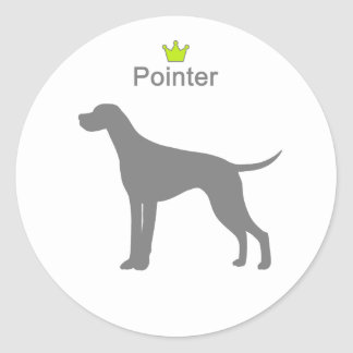 Pointer g5 classic round sticker
