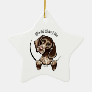 Pointer IAAM Ceramic Ornament