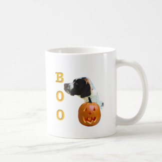 Pointer (Liver Coated) Boo Coffee Mugs